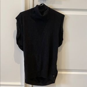 All Saints 100% merino mock neck knit